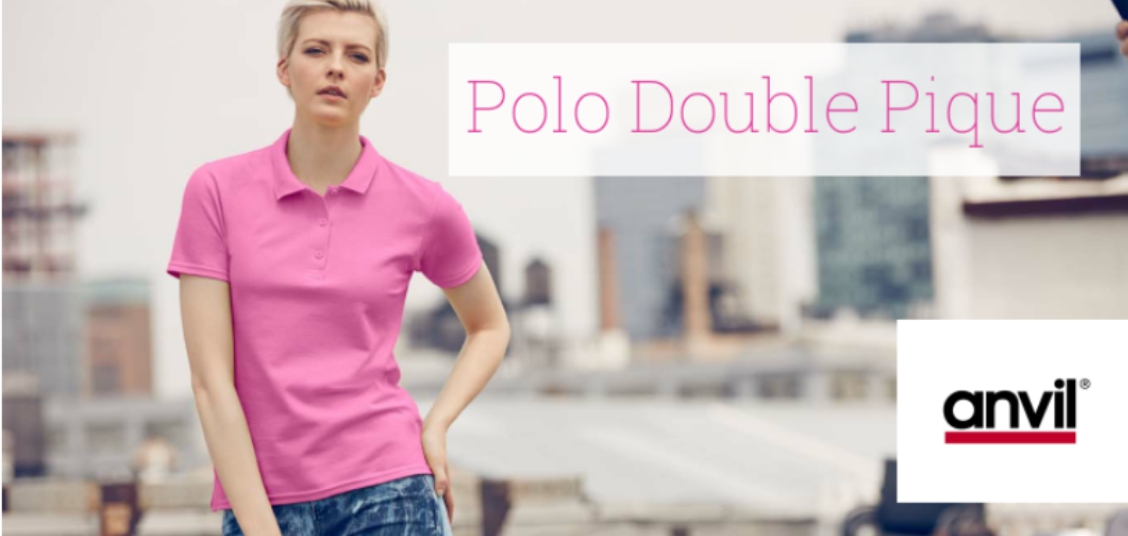Polo Double Pique ANVIL