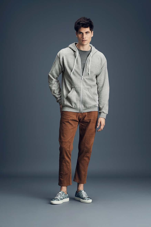 Bluza z kapturem Full Zip Sweatjacket ANVIL