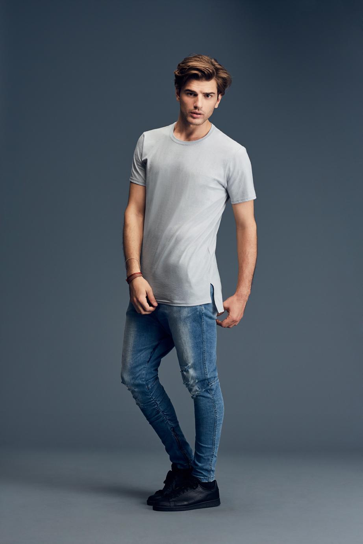 T-shirt Adult Fashion Basic Long & Lean Tee ANVIL