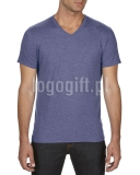 T-shirt Tri-Blend V-Neck Tee ANVIL ?>