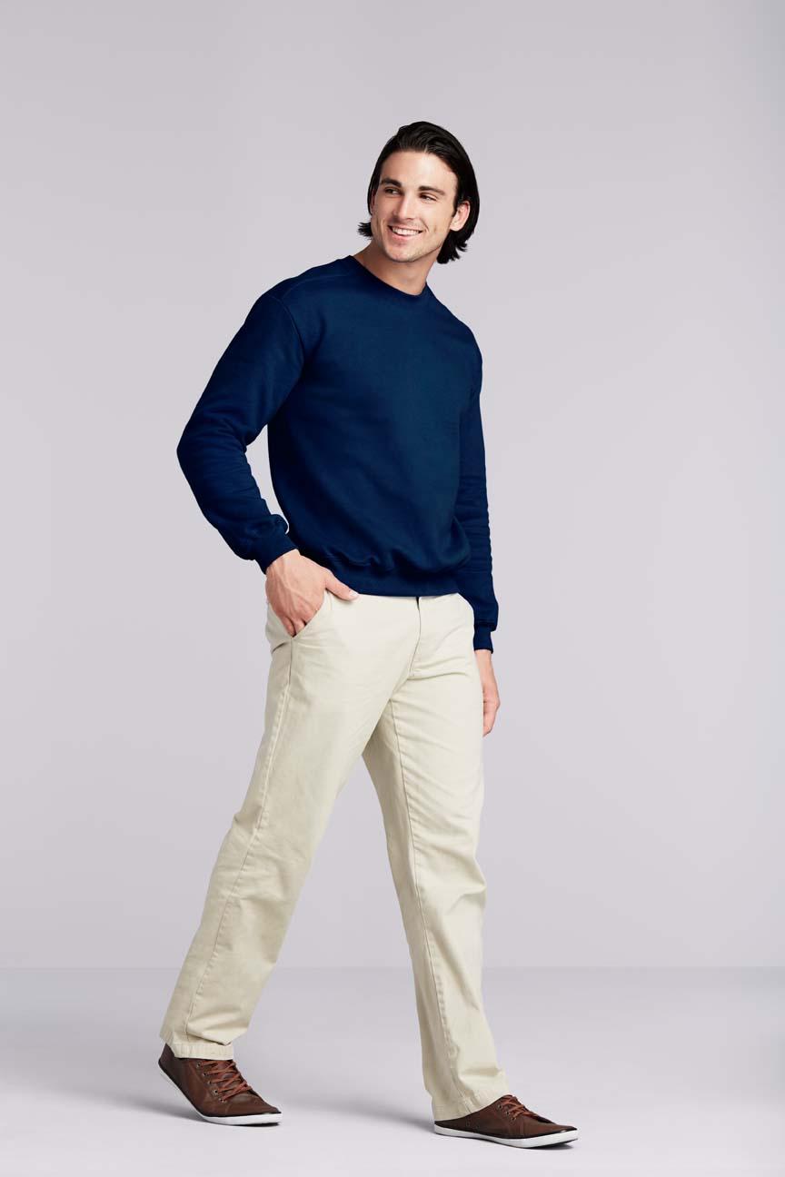 Bluza Premium Cotton Adult Crewneck GILDAN